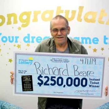 North Carolina Man, Diagnosed With Fourth Stage Cancer, Wins $250k Lottery And Plans To Take Wife To A Dream Europe Vacation