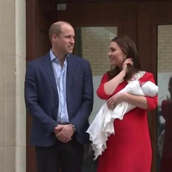Duke Of Cambridge William And Duchess Kate Middleton Welcome Third Child Together: Kate Tributes Her Late Mother-In-Law Princess Diana