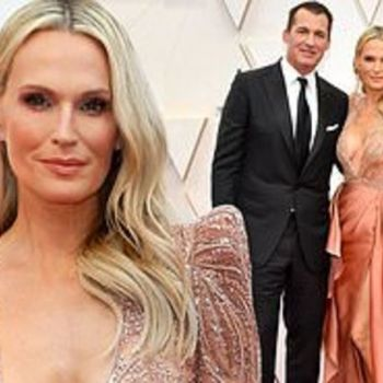 Oscars 2020: Molly Sims and Scott Stuber PDA at 92nd Academy Awards