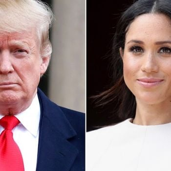 President Trump Swears He Never Called Meghan Markle Nasty