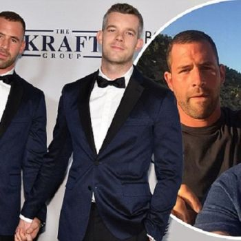 GAY COUPLE; Russell Tovey And Steve Brockman Are Back Together!