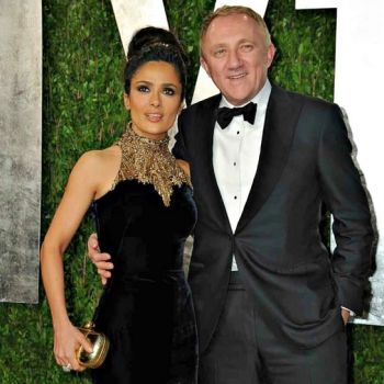 Mexican-born Actress Salma Hayek Gives Her Success Credit To Husband Of Nine Years Fran�ois-Henri Pinault,