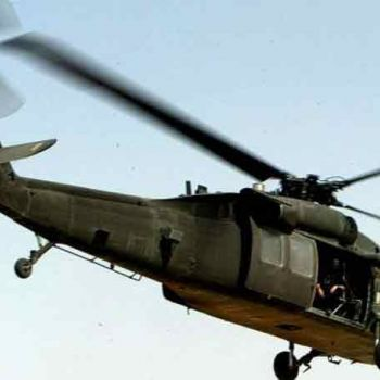 Six Die In A Mexican Military Helicopter Crash