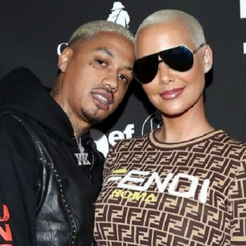 Surprise! Amber Rose is Pregnant; Expecting a Baby Boy with Boyfriend Alexander 'AE' Edwards