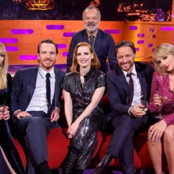 Taylor Swift And�Ex Joe Jonas' New Wife Sophie Turner Are All Smiles On The Graham Norton Show