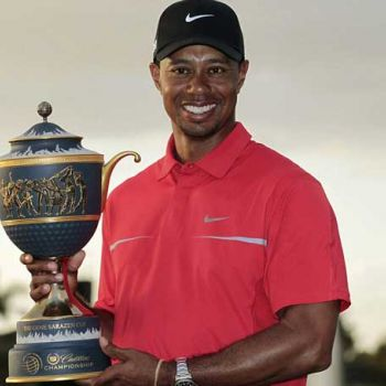 Tiger Woods Wins First Tour Championship After Five Years