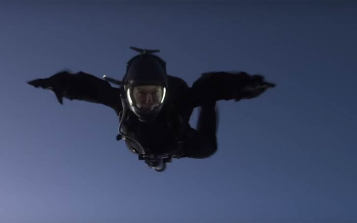 Tom Cruise Performs A Halo Parachute Jump For His Role In Mission: Impossible Fallout: Becomes First Actor To Jump From 25,000ft
