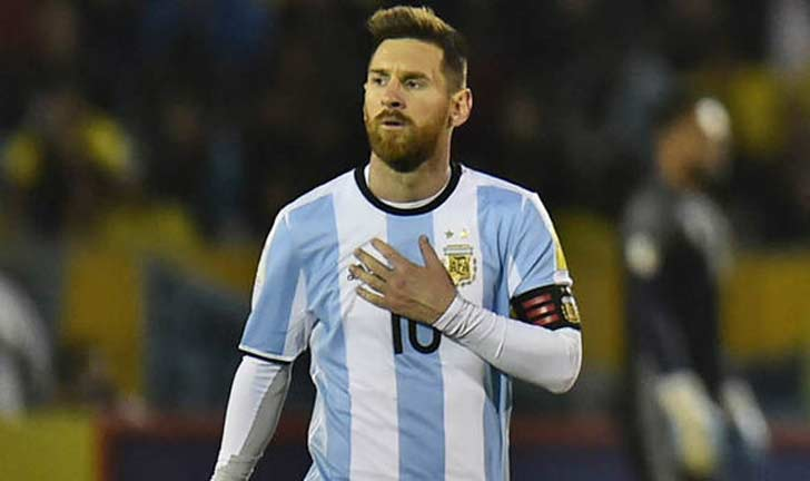 Messi Scores A Hat-trick Against Iceland In First Match Of Group D?