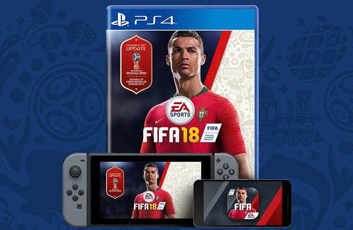 World Cup 2018: EA Sports Releasing The Huge Update For FIFA 18
