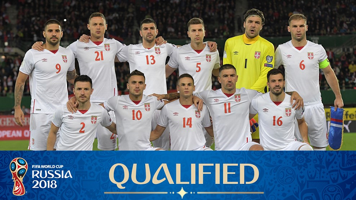 serbia national football team world cup 2018serbia