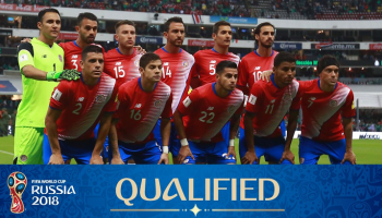 Costa Rica National Football Team, World Cup 2018
