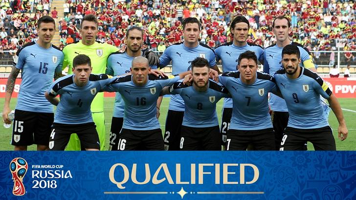 Výsledek obrázku pro uruguay national football team