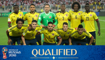 Colombia National Football Team, World Cup 2018