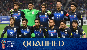 Japan National Football Team, World Cup 2018