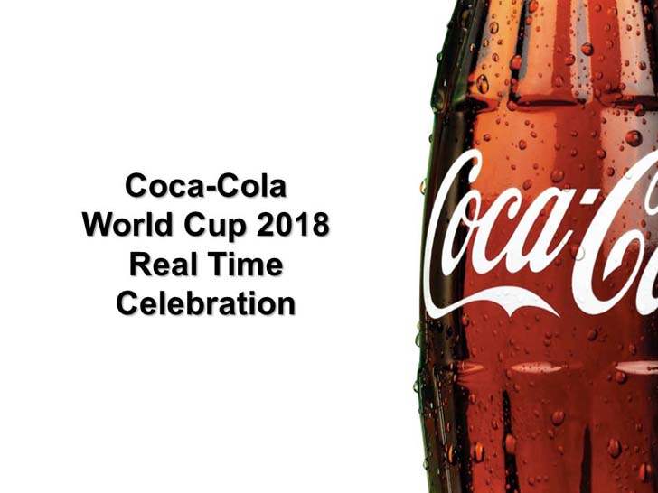 Coca Cola announces K-pop stars BTS as their official spokesmen at the World Cup 2018