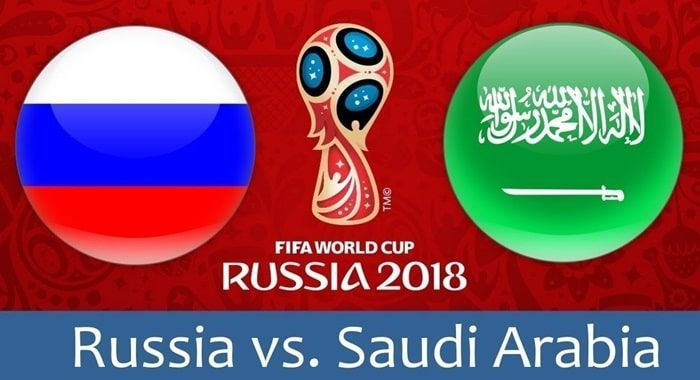 Russia Wins The Opening Match Of The Tornament In A 5-0 Victory Over Saudi Arabia