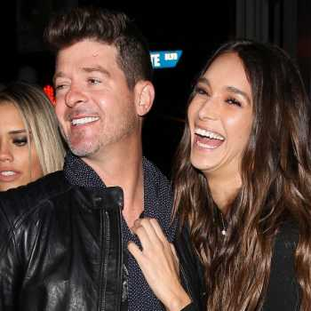 April Love Geary, Robin Thicke's Girlfriend is Pregnant with Their First Child