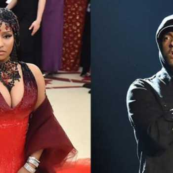 Big Bank Singer Nicki Minaj Says She Is Dating Rap God Eminem-Is It True?