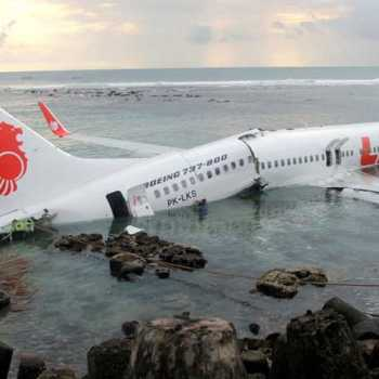 Boeing 737 With 188 People On Board Crashes Into The Java Sea Shortly After Taking Off From Jakarta