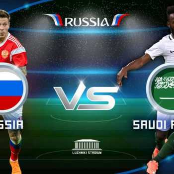 Opening Match Of FIFA World Cup 2018: Russia V. Saudi Arabia