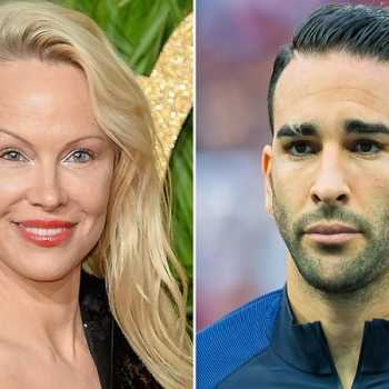 Pamela Anderson To Share First Christmas With French Soccer Player Boyfriend Adil Rami