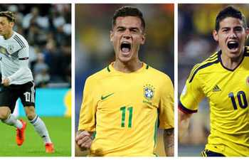 Top Five Attacking Mid Fielders To Look Out In The 2018 World Cup
